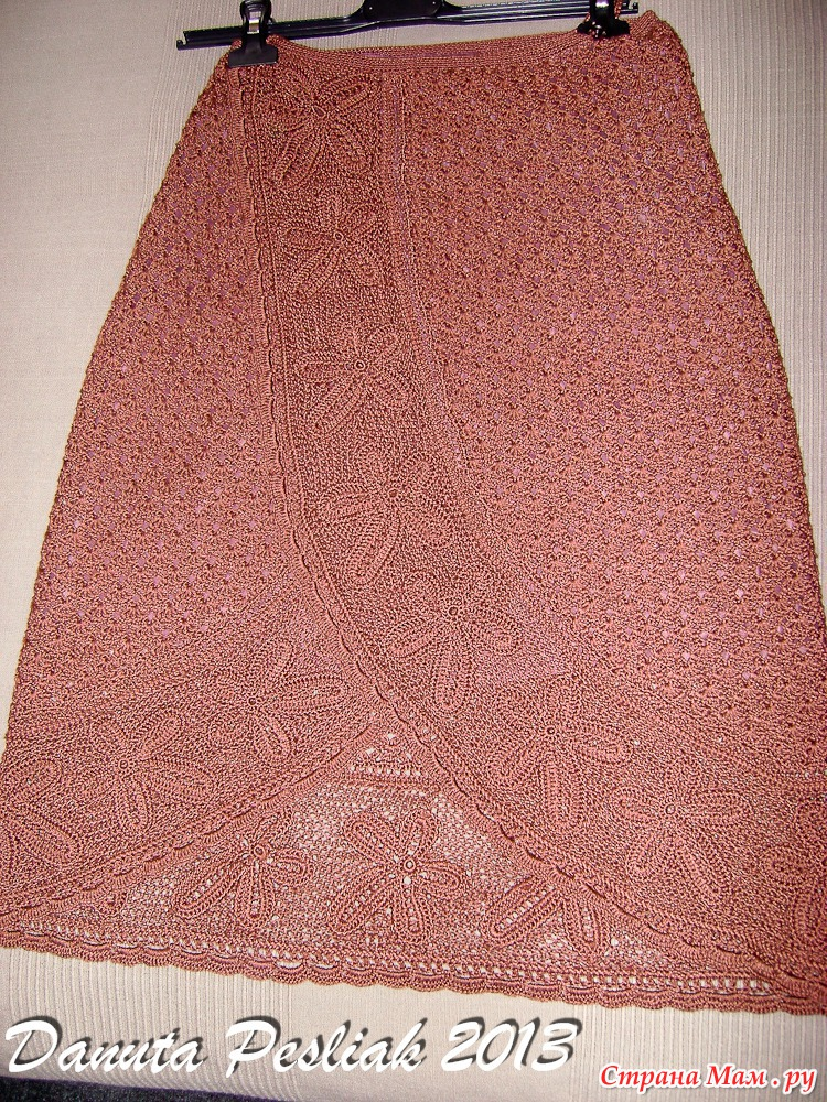 Каемка на юбку