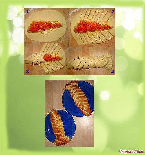 как украсить пирог плетенкой