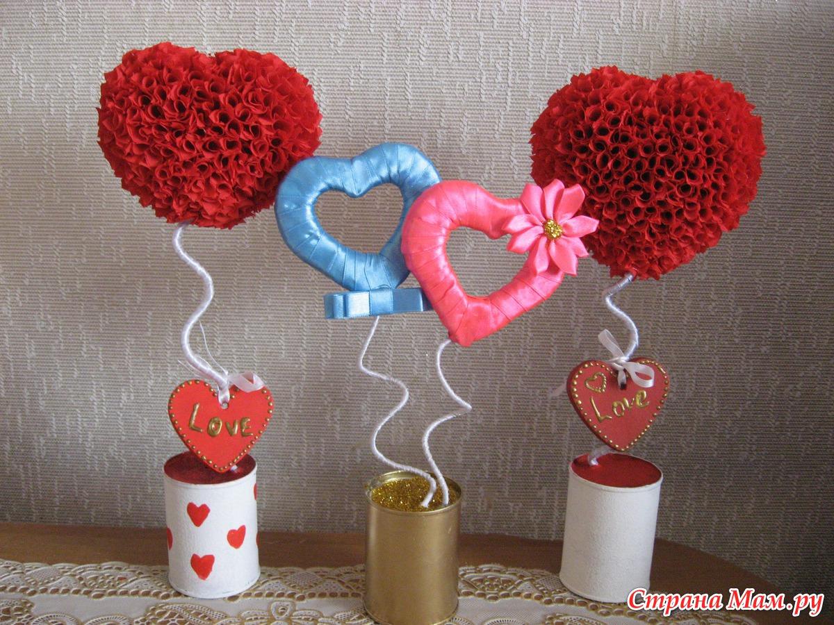 Как сделать два сердца своими руками из шаров