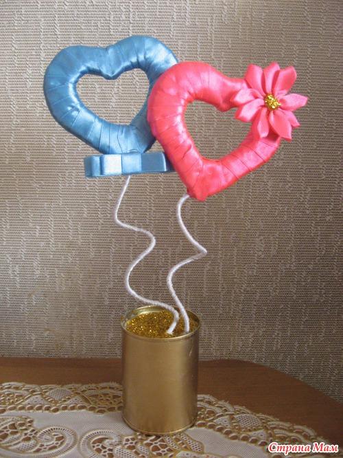 Как сделать сердце топиарий