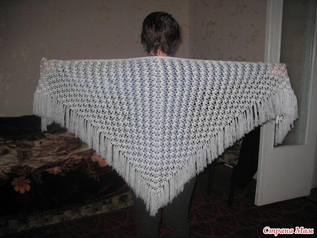 Мои шали... и их схемы