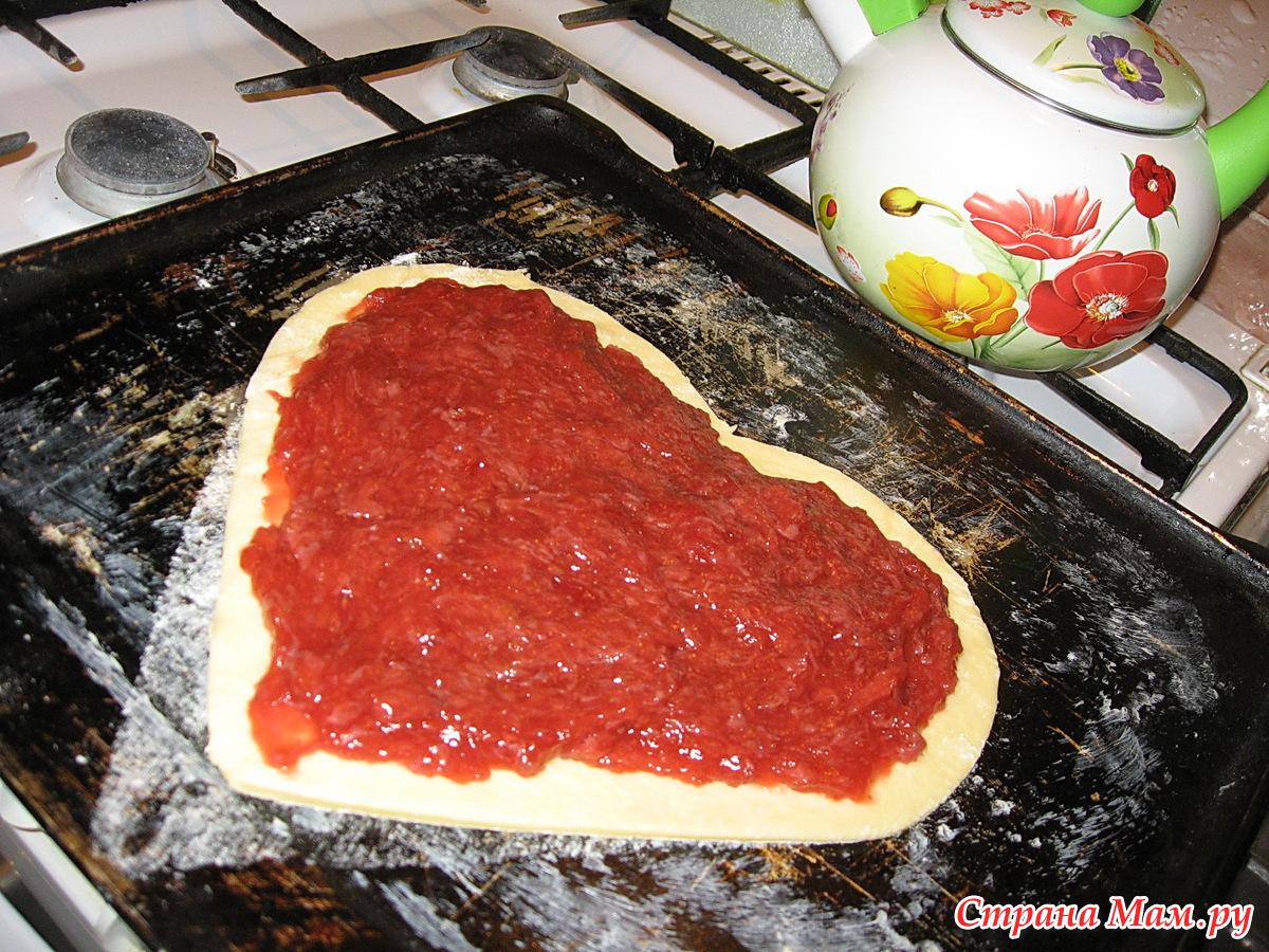 Тертый пирог с клубникой рецепт пошагово