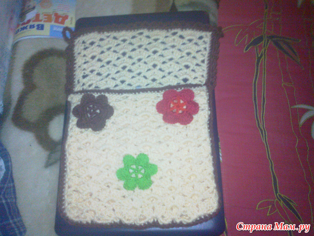 Вязание кармашков для мелочей