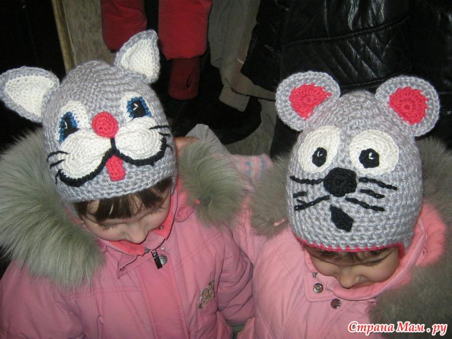 Детские зверюшки для вязания