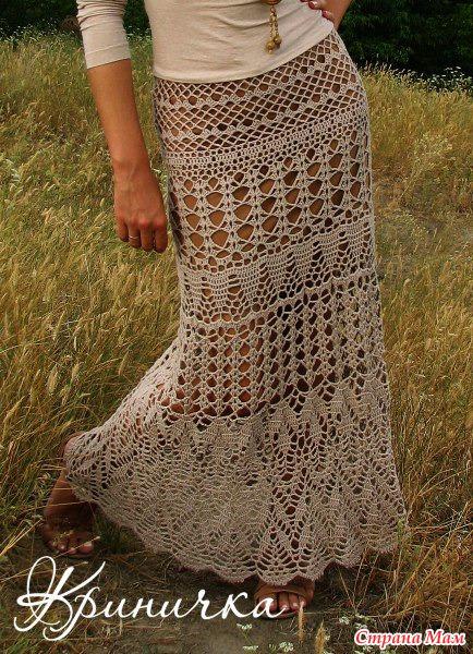 Сколько ниток на юбку