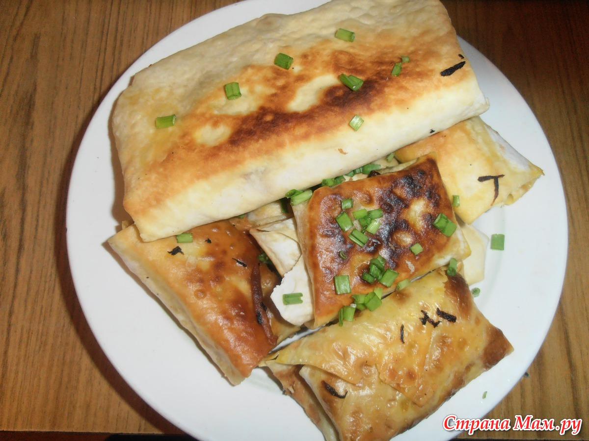 Жареные закуски из лаваша рецепты пошагово