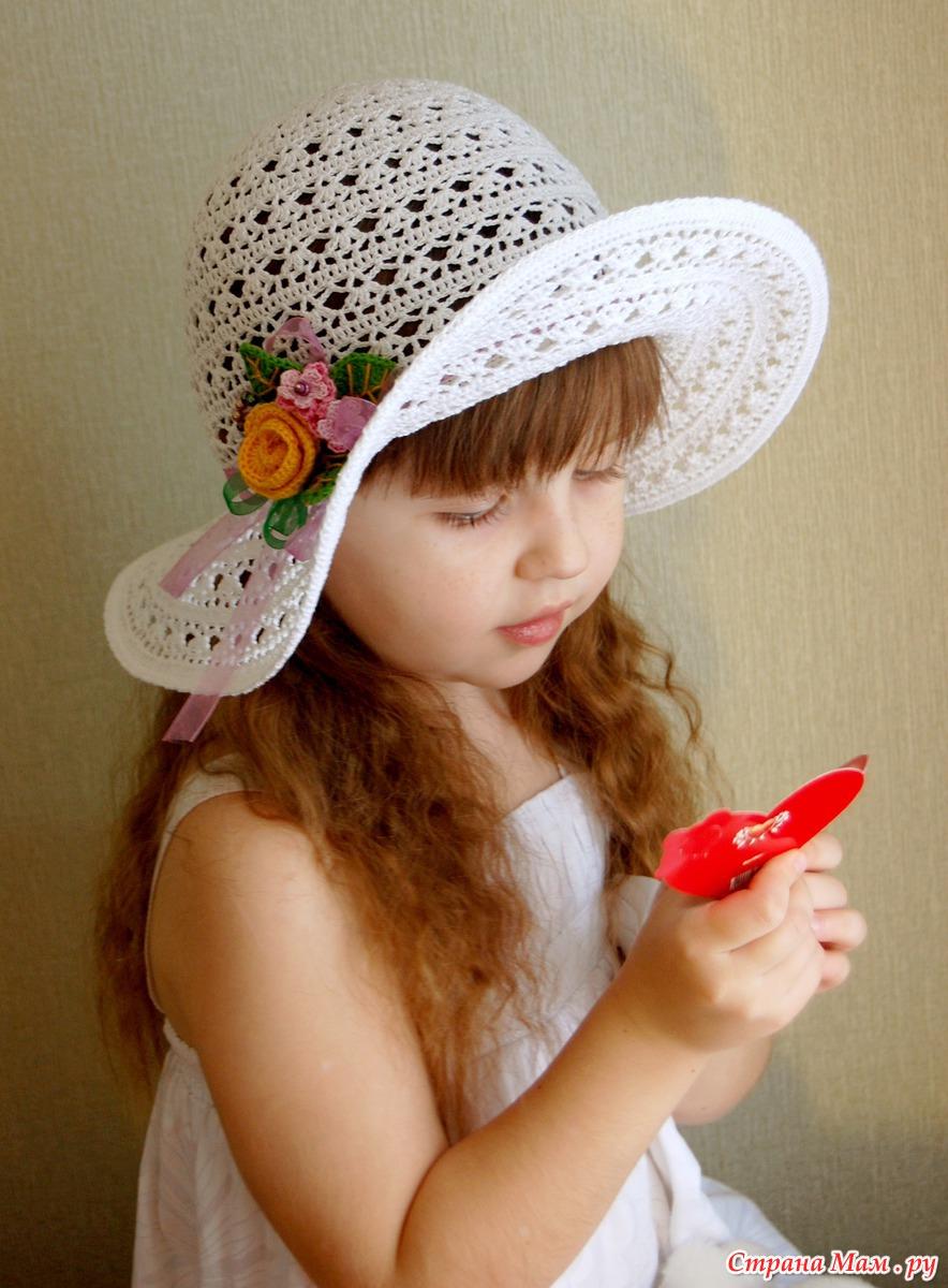 Шляпки_ПАНАМКИ _для девочек Записи в рубрике Шляпки 8