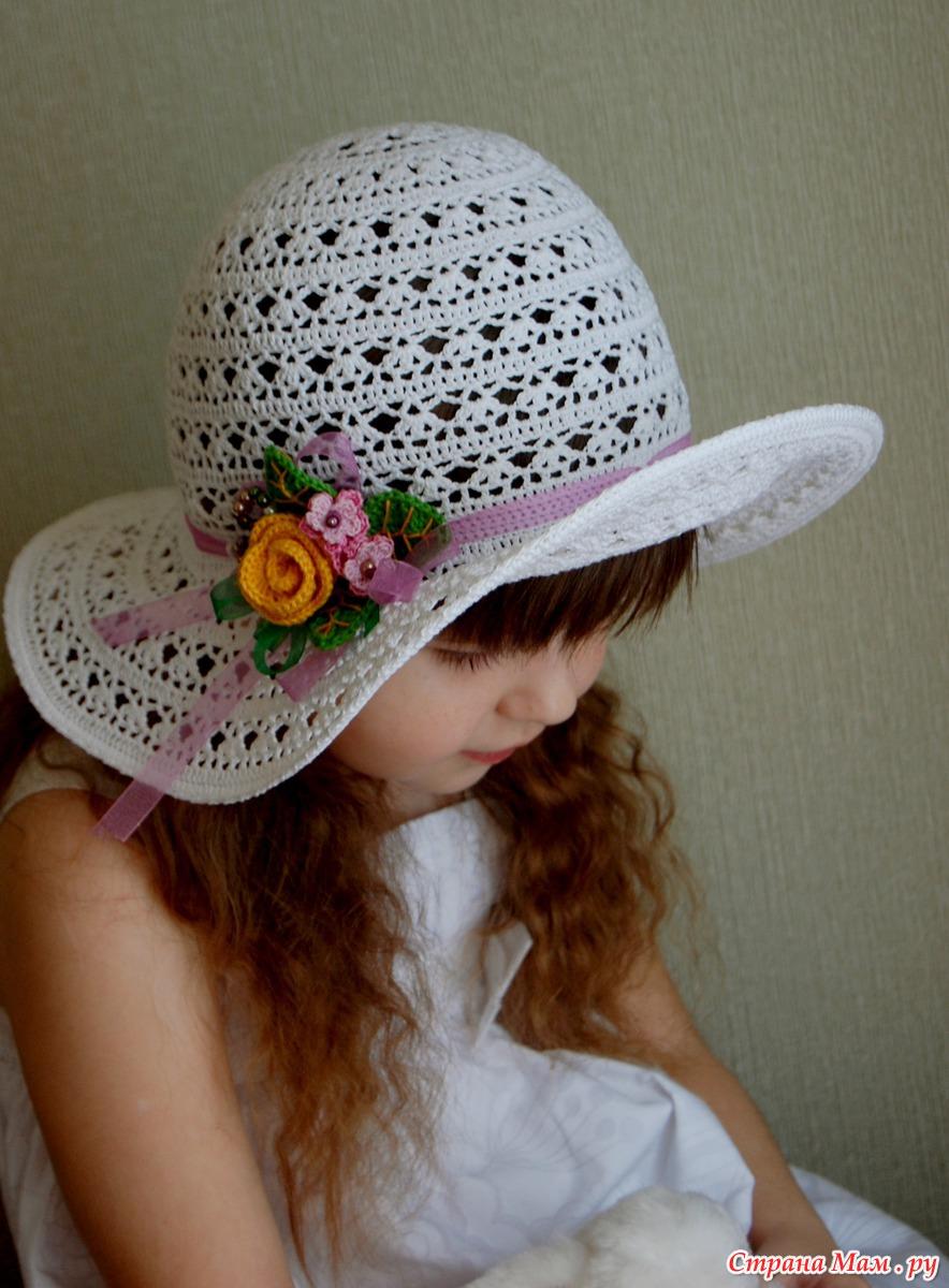 Шляпки_ПАНАМКИ _для девочек Записи в рубрике Шляпки 34