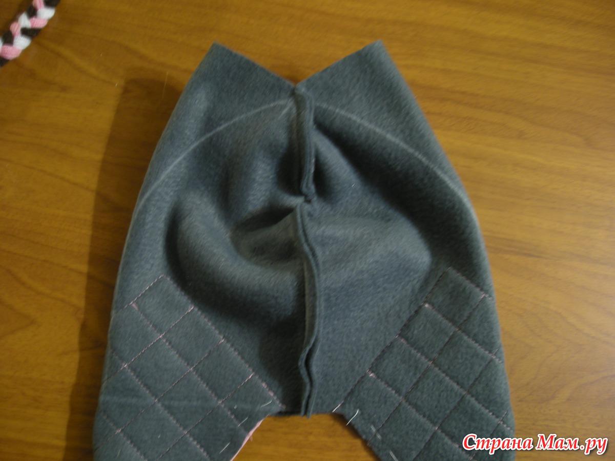 Как сделать подкладку в шапку