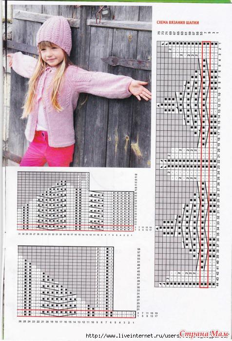 Вязание спицами от натальи пелых описание схемы вязания
