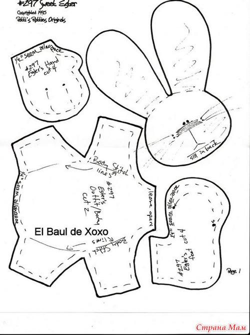 Рукоделие шитье выкройки в