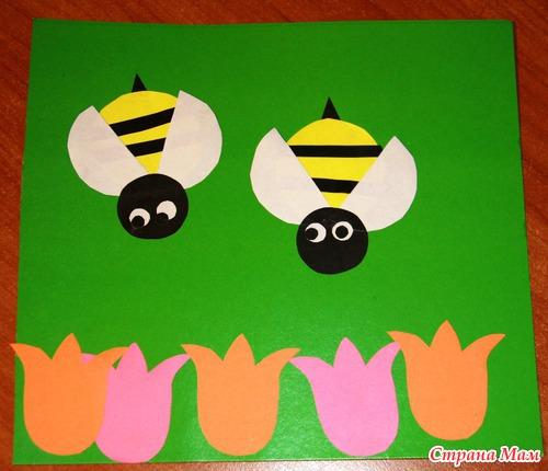 Поделка пчелы своими руками