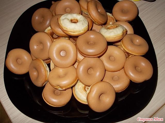 рецепт пончиков в электрической вафельнице