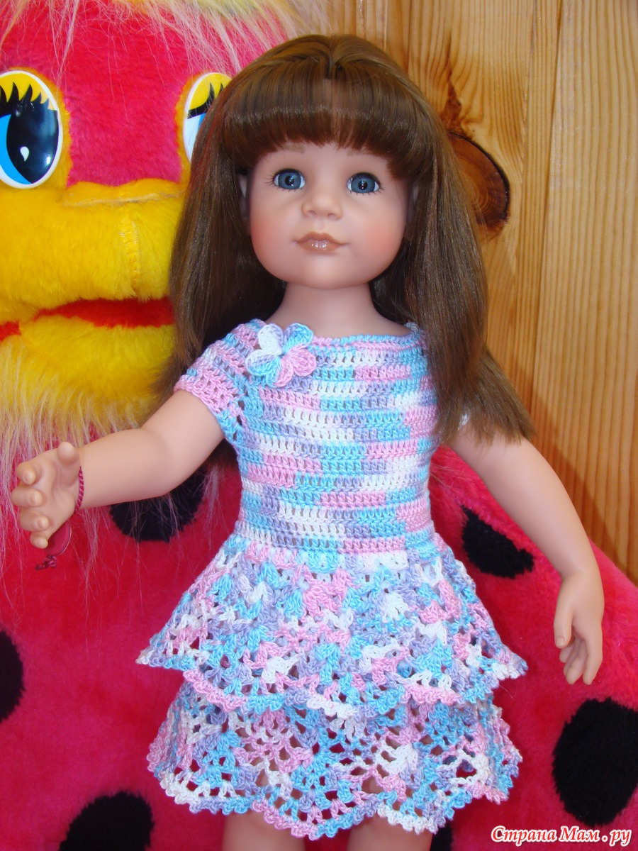 Вязание куклам большим