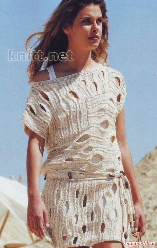 Оригинальные туники платья