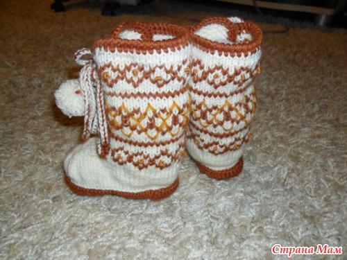 Пинетки носочки  Страница 3  Ниткой  вязаные вещи для