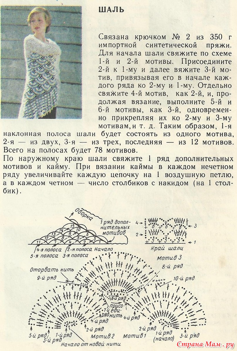 1117 best Вязание Шарфы шали платки images on Pinterest