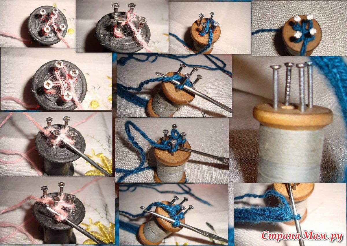 Поделки из шпулек для ниток