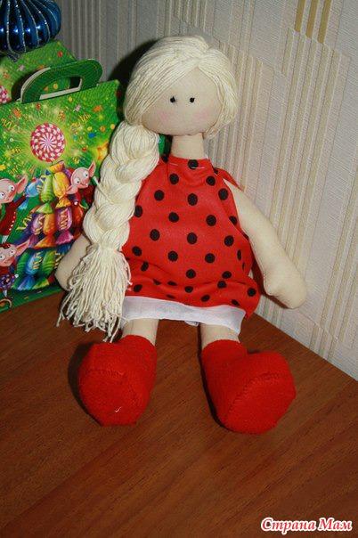 Шьём куклы для начинающих