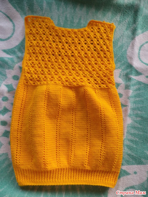 Страна мам вязание сарафан