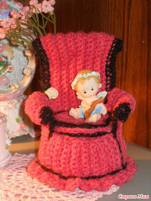 Рубрика. Тэги. кукла. мебель для кукол. вязание. Вязаные куклы из интер..