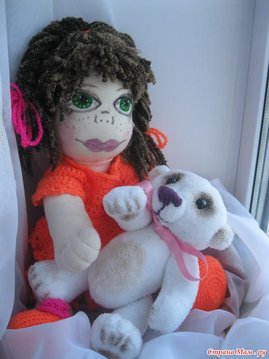 Куклы сидячие своими руками 10