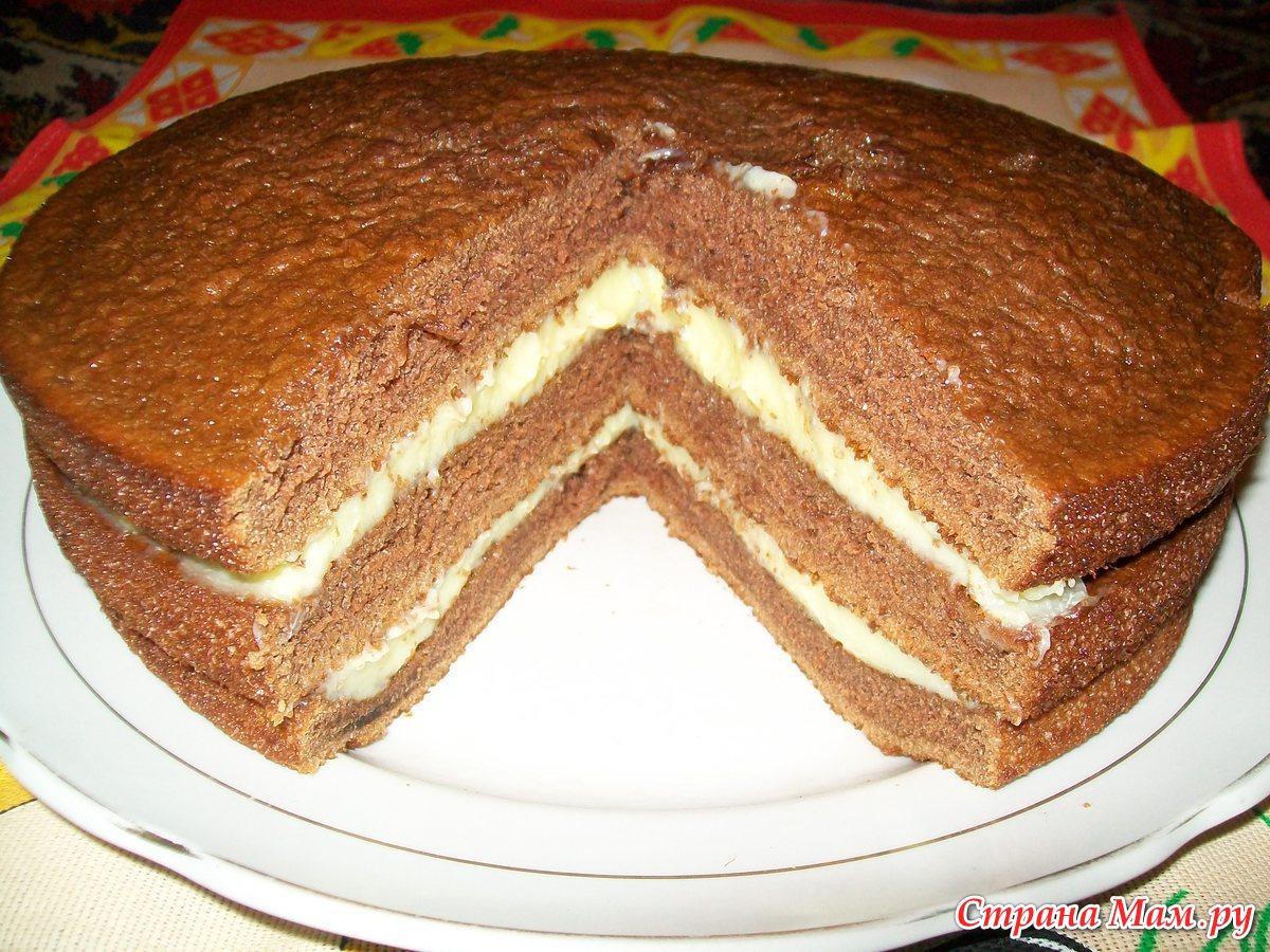 Торт чёрный принц классический рецепт