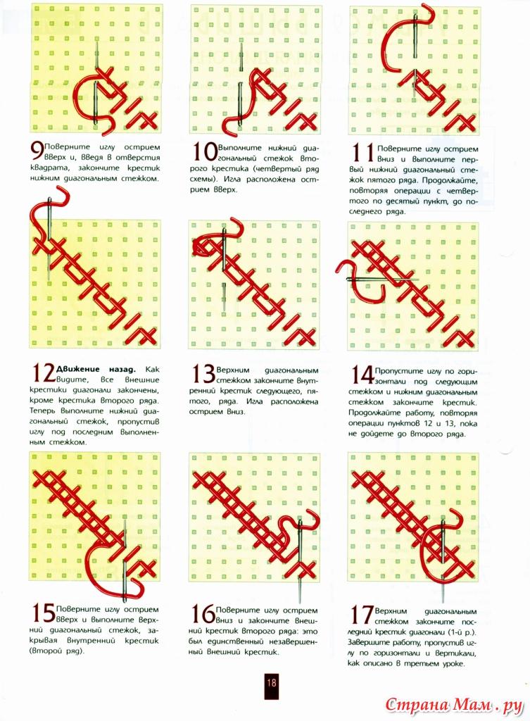 Как научиться вышивать крестиком: советы для 93