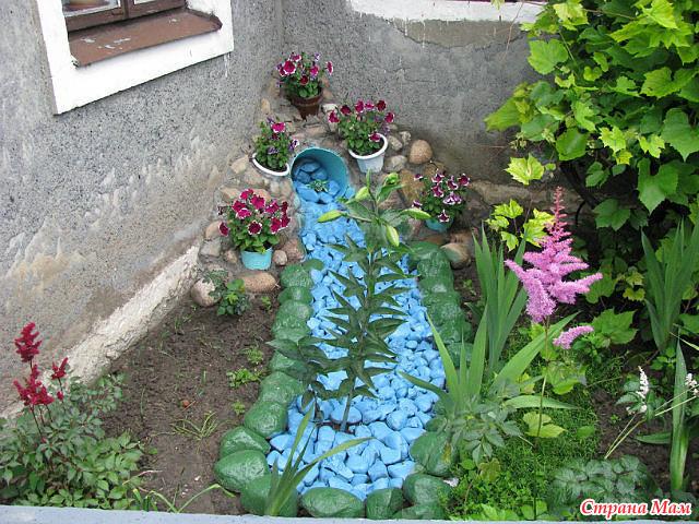 Украшение на огород
