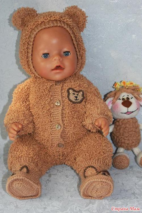 Новые наряды для куклы Baby