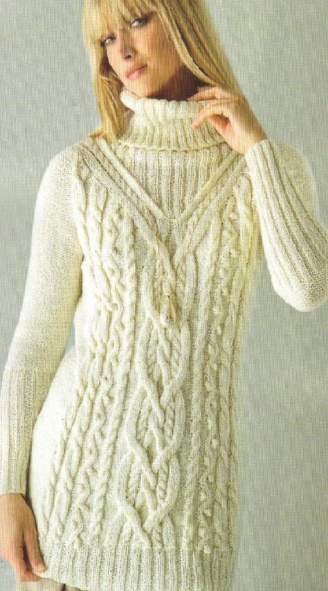 Платья » Схемы вязания .