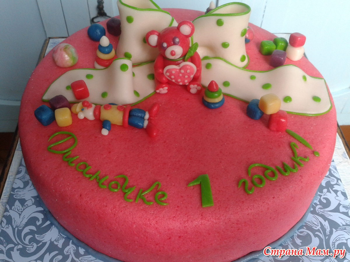 Фото украшений детского торта