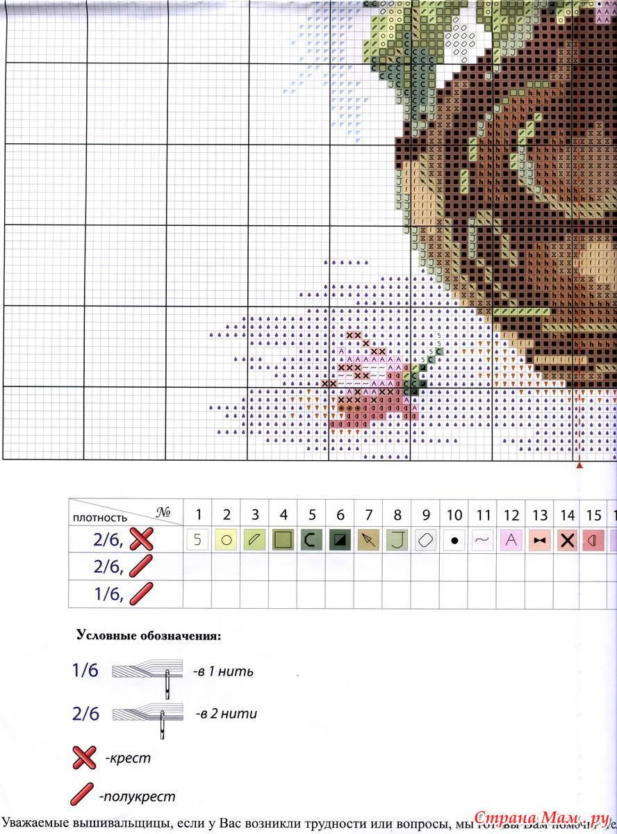 Как создавать схемы для вышивки? в 72