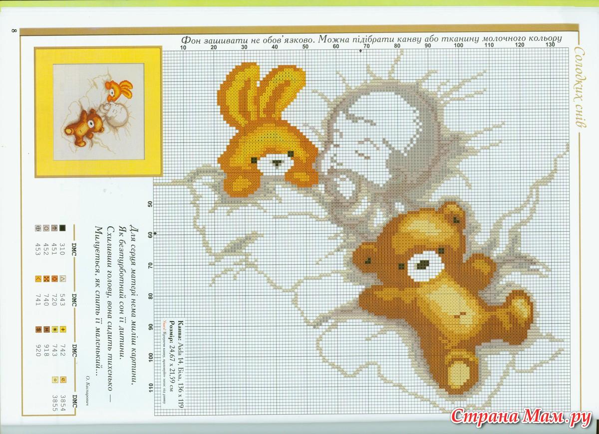 Вышивка крестом метрика для новорожденных схемы мальчиков 953