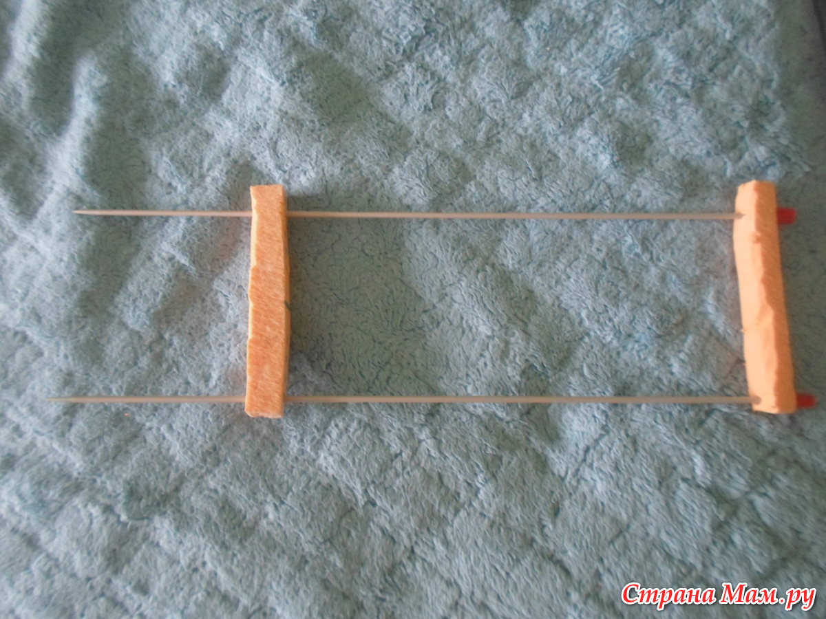 Вилку для вязания своими руками