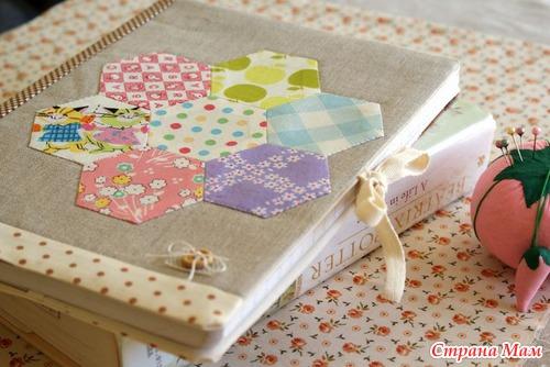 Пэчворк на бумажном шаблоне (English Paper Piecing), МК