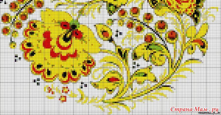 Красивые картинки со схемами для вышивки