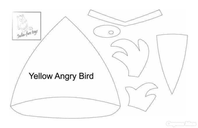 Выкройки из angry birds