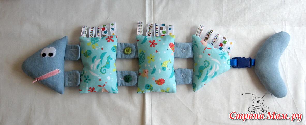 Игрушки своими руками из ткани для малышей своими руками