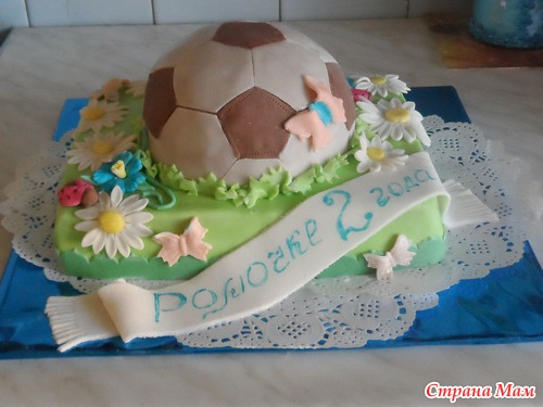 тортики для хлопчиків фото
