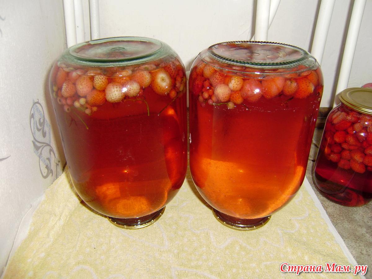 Компот из брусники и малины рецепт
