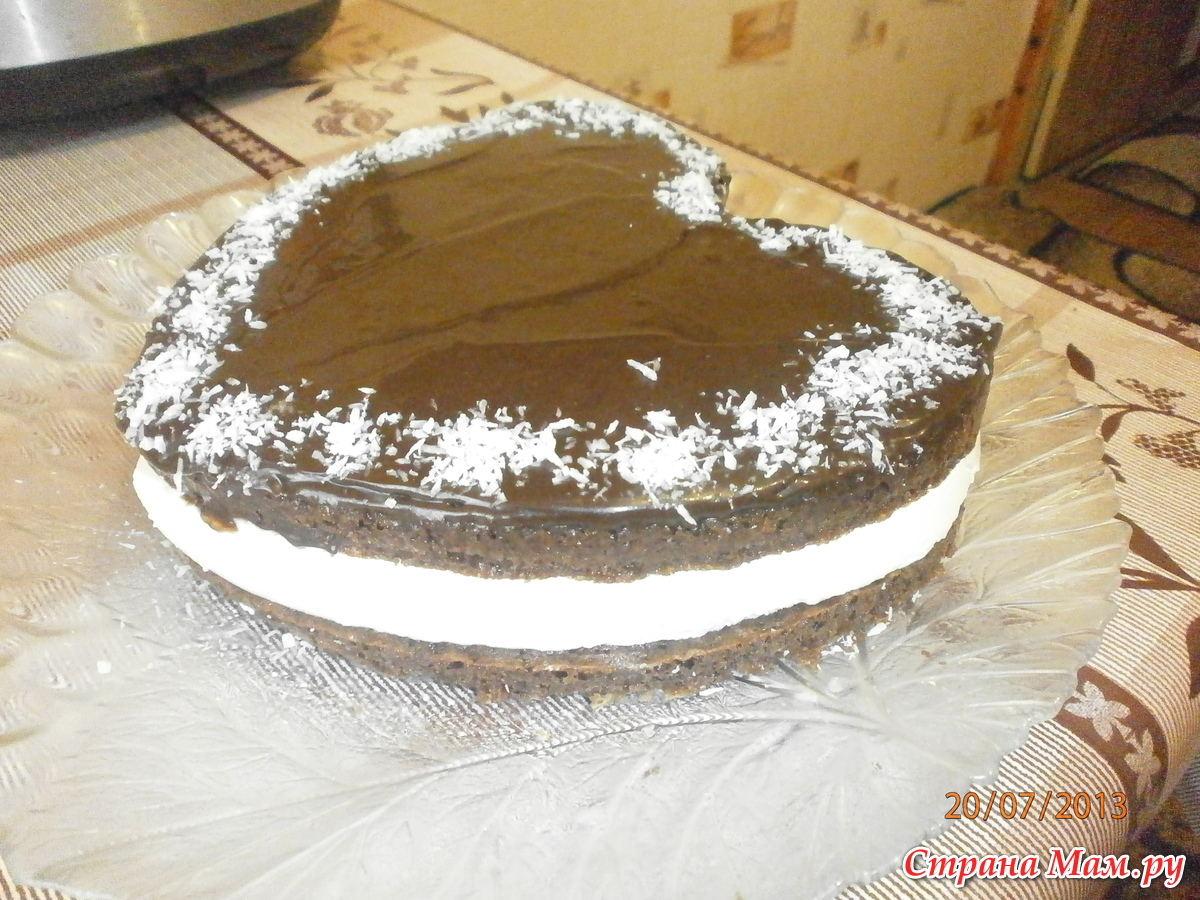Торт шахтёрский рецепт пошагово