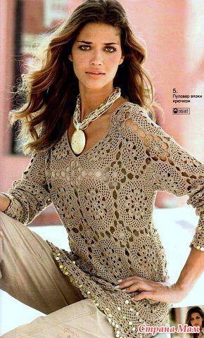 Вязание спицами. Одежда для женщин 24