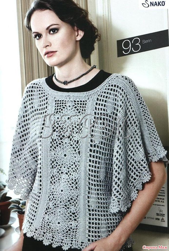 Вязание спицами для женщин жилеты для полных