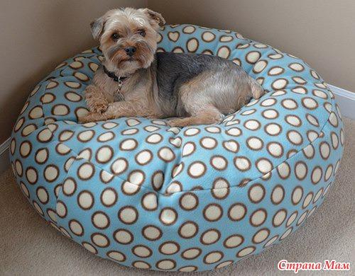 Лежанка для собаки своими руками выкройки фото 239