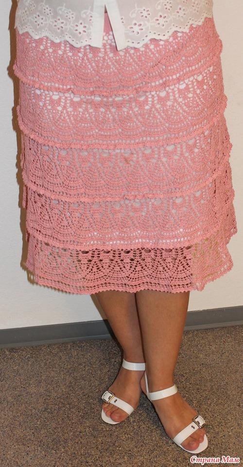 ажурная юбка - Самое