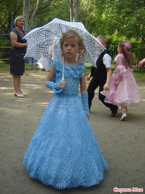 *Выпускное платье для доченьки