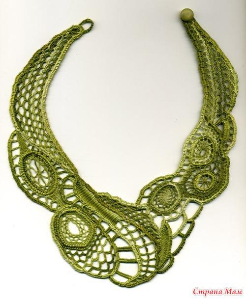 *Идеи вязаной бижутерии. Взяла