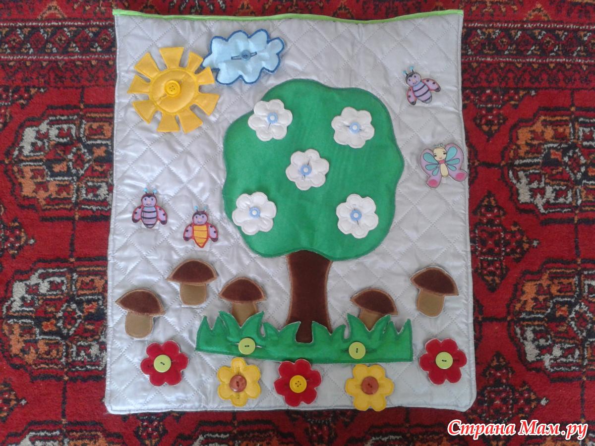 Развивающее панно для детского сада своими руками 2 3 года