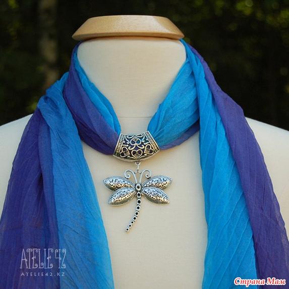 Колье из шарфов, много фото, красотааа!!! - Страна Мам
